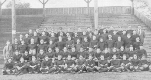 THE 1921 WASHINGTON AND JEFFERSON FOOTBALL SQUAD