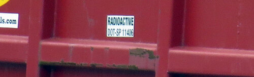 RADIOACTIVE DOT-SP 11406