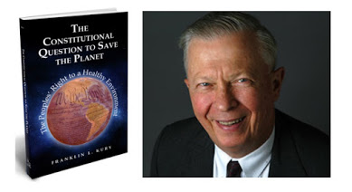 "Frank Kury's new book, ""The Constitutional Question to Save the Planet."""
